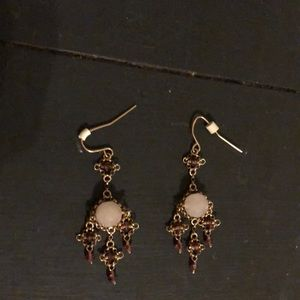 Chandelier earring set